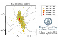 Central Italy seismic sequence